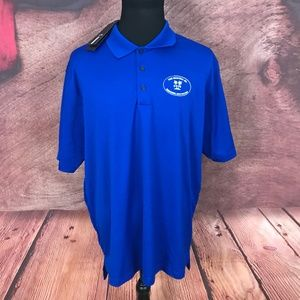 Adidas Climalite Blue Polo Shirt 2XL